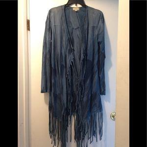🔥Live and Let Live fringe shawl - large